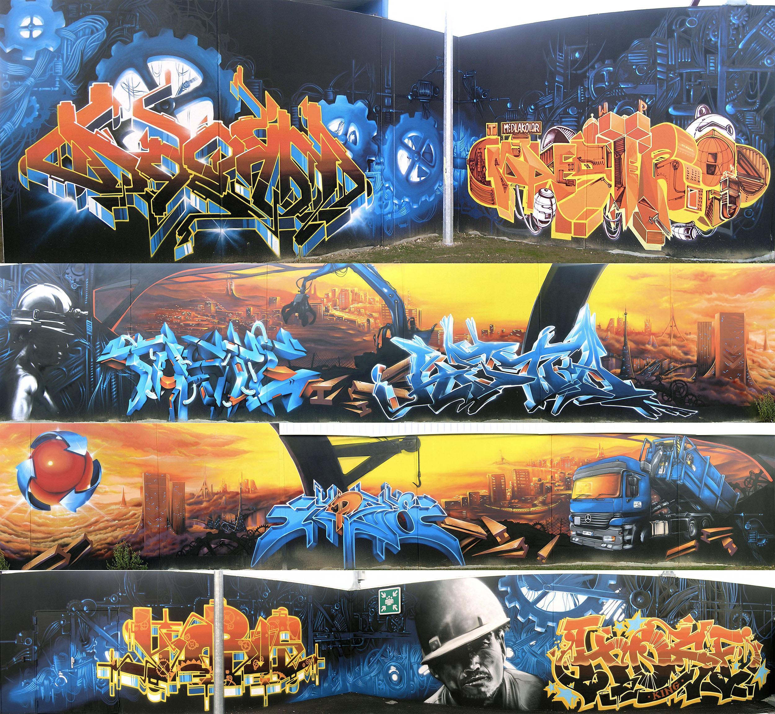 Mur-fresque-graffiti-Vignier-recyclage